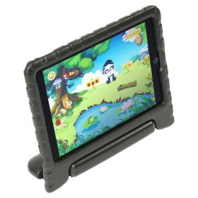 KidsCover Original IPad (2017 & 2018), Air 1, 2 & Pro 9.7 Black - inclusief screen protector en kids stylus