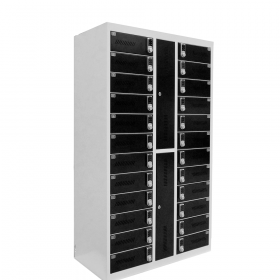 Safelock Laptop - Oplaad lockerkast - met cijfercodeslot voor 24 laptops of tablets