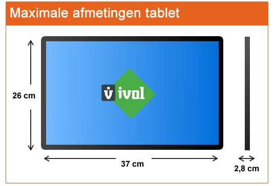 afmetingen tablet